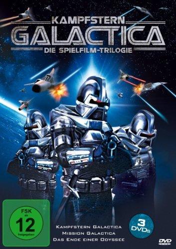 Kampfstern Galactica - Die Spielfilm-Trilogie [3 DVDs]