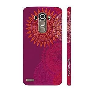 Enthopia Designer Hardshell Case Sun Dance Back Cover for LG G4
