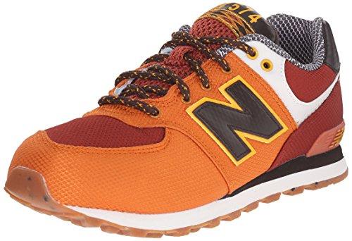 New Balance, Sneaker donna Multicolore multicolore, Arancio, 39.0
