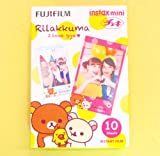 Fujifilm Instax Mini Instant Film 10 Sheets × 3 Packs (RiLakkuma & Disney Alice in Wonderland & Stained Glass) [Komainu-Dou Original Package]