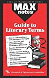 img - for Guide to Literary Terms, The (MAXNotes Literature Guides) book / textbook / text book