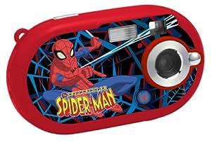"""Lexibook DJ025SP Jeu Électronique Appareil Photo Numerique Spider- Man 300K, Ecran Couleur LCD 1,1"""" avec Flash"""