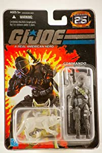 GI Joe 25th Anniversary Snake Eyes Action Figure