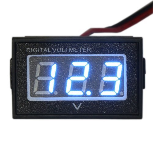 Small Digital Voltmeters Dc : Awardpedia waterproof monitor dc v