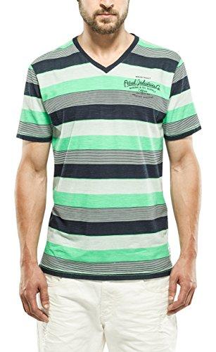 Petrol Industries T-Shirt SS V-Neck, Maglia a Maniche Corte Uomo, 698, M