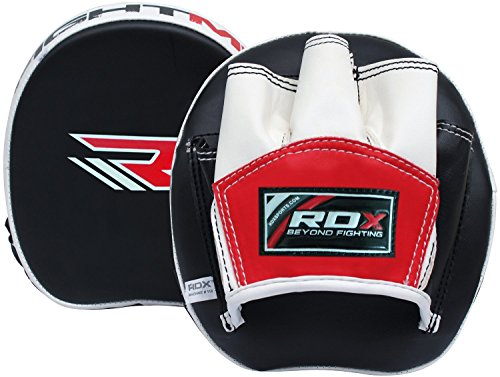 RDX-Boxing-Target-Focus-Training-Punching-Mitts-Hook-Jab-Pads-MMA-Thai-Strike-Kick-Shield