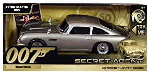 James Bond 50th Anniversary Aston Martin DB5, 23cm--Gold Finger