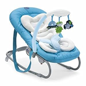 Chicco Mia Rocker Greeny for 0 - 6 Months (Blue)