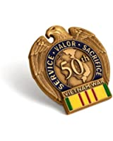 Vietnam War 50th Anniversary In-Theater Veteran Commemorative Insignia
