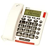 Geemarc CL320 Talking Caller ID Corded Telephone - Whiteby Geemarc