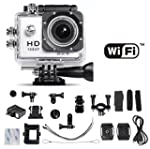 WiFi Action Camera 12MP 1080P H.264 1...