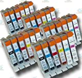 30 Chipped Compatible Canon CLI-8 'Photo-Pack' Ink Cartridges Cartridges for iP6600D Printer