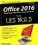 Office 2016 pour les Nuls