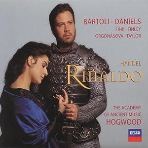 Haendel - Rinaldo / Bartoli, Daniels, Fink, AAM, Hogwood