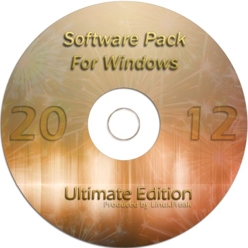 Ultimate Software Pack For Windows 7, Vista, Xp - Includes Two Office Suites, Audio/Video Codecs, Antivirus, Universal Chat Client, Advanced Photo Editor, Cd/Dvd Burning & More