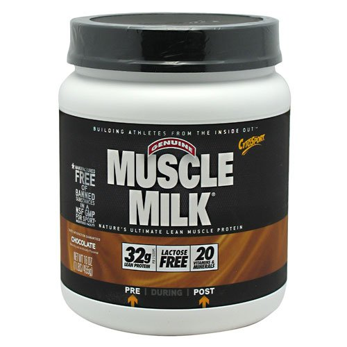 Cytosport, Muscle Milk Chocolate 1 Lb (455 G)