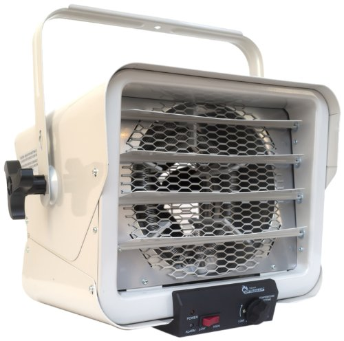 Dr. Heater DR966 240-volt Hardwired Shop Garage Commercial Heater, 3000-watt/6000-watt (240v Heater compare prices)