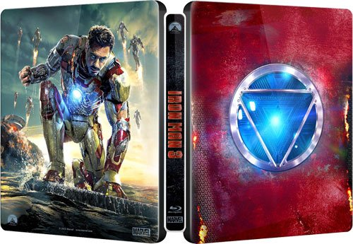 【Amazon.co.jp限定】アイアンマン3 3Dスーパー・セット(デジタルコピー付き:スチールブック仕様) (完全数量限定) [SteelBook] [Blu-ray]