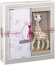 Sophie la Girafe 000004 - Mi primer set + muselina 120 x 120 cm