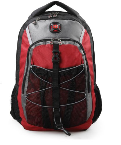 2014 Swiss Gear New Style Classic Computer Notebook Laptop Teblet Backpack.Sa7938-C1-Red