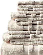 Lands End - Natural - Luxe Essential Towel Set - 6 Piece Set