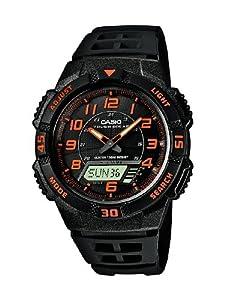 Casio - AQ-S800W-1B2VEF - Montre Homme - Quartz Analogique et Digital - Cadran Noir - Bracelet Résine Noir de Casio