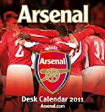 Official Arsenal FC 2011 Desk Easel Calendar