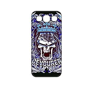 Vibhar printed case back cover for Samsung Galaxy Grand Quattro CrazySkull