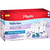 Playtex BPA Free VentAire Wide Bottle Newborn Starter Set (Packaging may vary) ~ Playtex