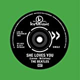 BEATLES - SHE LOVES YOU(LIVE)/TWIST & SHOUT(LIVE) by BEATLES [Music CD]