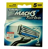 Gillette Mach3 Turbo razor blades 5-pack