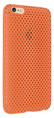 AndMesh iPhone 6 Plus ケース メッシュケース オレンジ AMMSC610-ORN