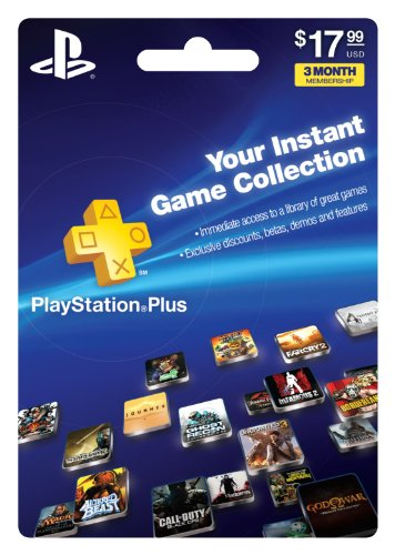 Playstation Plus 3 month Subscription [Download]