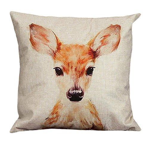 laimeng-vintage-deer-pattern-cotton-linen-pillow-case