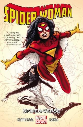 Book Cover: Spider-Woman Volume 1: Spider-Verse