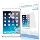 amFilm Apple iPad Mini /iPad Mini with Retina Display/iPad Mini 2 (2nd Generation) Premium HD Clear (Invisible) Screen Protector Film (2-Pack) [Lifetime Warranty]