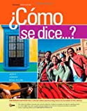 img - for Como se dice...?, Enhanced book / textbook / text book