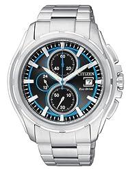Citizen Eco-Drive Analog Black Dial Men's Watch CA0270-59E