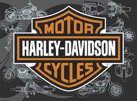 Harley Davidson Bar and Shield 500 Piece Jigsaw Puzzle