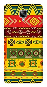 WOW Printed Designer Mobile Case Back Cover For One Plus 1+3 OnePlus 3