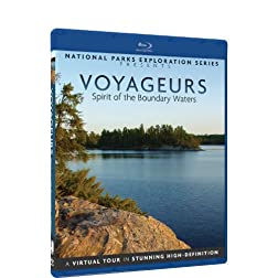National Parks Exploration Series - Voyageurs National Park - Spirit of the Boundary Waters - Blu-ray