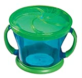 Munchkin Deluxe Snack Catcher,green-blue Color