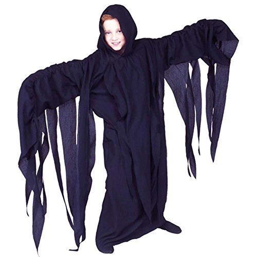 Kid's Thrilling Ghoul Robe Halloween Costume (Size: Small 4-6)