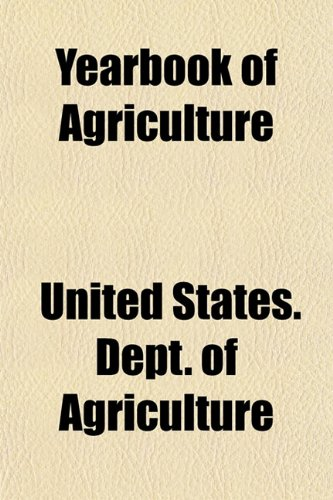 Yearbook of Agriculture. Index, 1901-1905