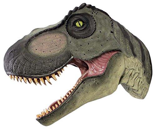 Design Toscano Giant Tyrannosaurus Rex Dinosaur Wall Trophy Sculpture