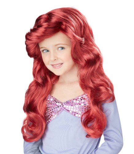 Little Mermaid Wig Child Accessory