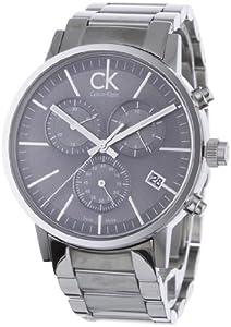 Calvin Klein Watches K7627161 SILVER BLACK
