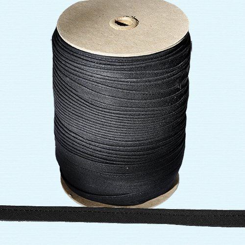 "Sale!! Piping Cord ~ 3/8"" Piping Cord -1/8"" Filler Cord BLACK (10 Yards / Pack)"