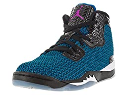 Nike Jordan Kids Jordan Spike Forty Bp Black/Fr Pink/Pht Bl/Atmc Orng Basketball Shoe 10.5 Kids US