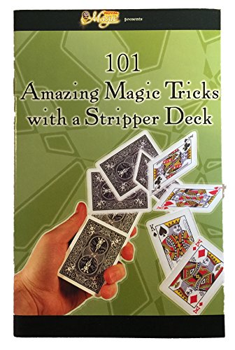 101 Magic Tricks with a Stripper Deck Booklet